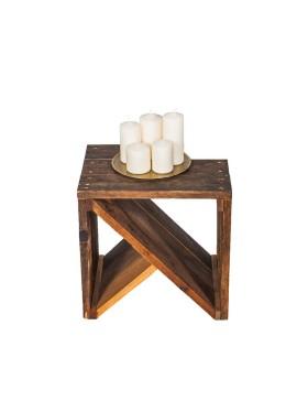 """Mesa auxiliar """"K"""" de madera..."""