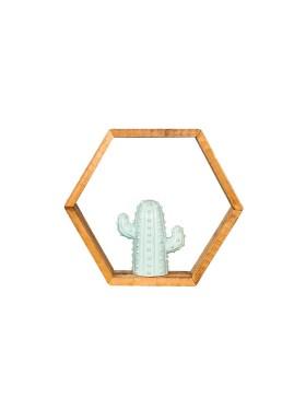 Estantería marco hexagonal...
