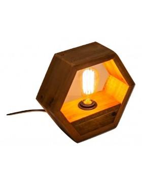 Lámpara Hexagonal sobremesa...