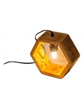 Lámpara de mesa hexágono de...
