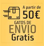 Envío Gratuito a partir de 50€